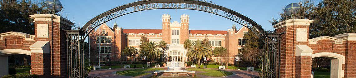 Florida State University Arch and Wescott Building