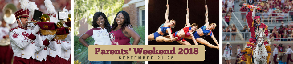 Images from FSU's Parents Weekend - Register to attend Parents' Weekend 2018 on September 21-22.