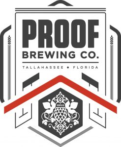 Proof Brewing Co. Tallahassee Fl  Logo