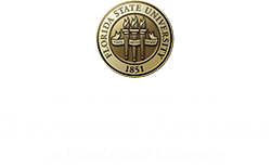 Division of Student Affairs at Florida State University logo